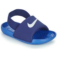 Schoenen Jongens Slippers Nike NIKE KAWA TD Blauw