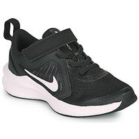 Schoenen Kinderen Allround Nike Downshifter 10 PS Zwart