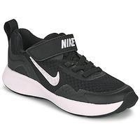 Schoenen Kinderen Allround Nike WEARALLDAY PS Zwart / Wit