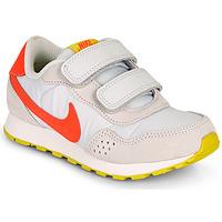 Schoenen Meisjes Lage sneakers Nike MD VALIANT PS Beige / Rood