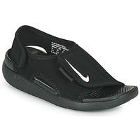 Schoenen Kinderen Slippers Nike SUNRAY ADJUST 5 V2 PS Zwart