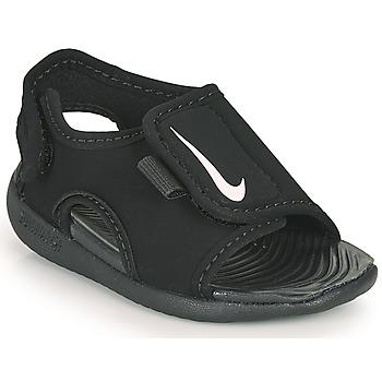 Schoenen Kinderen Slippers Nike SUNRAY ADJUST 5 V2 TD Zwart