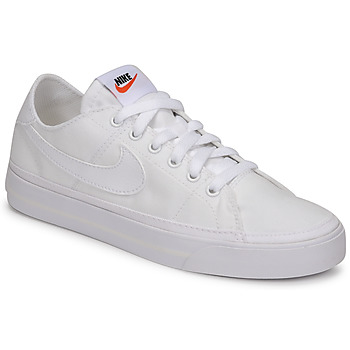 Schoenen Dames Lage sneakers Nike NIKE COURT LEGACY CANVAS Wit