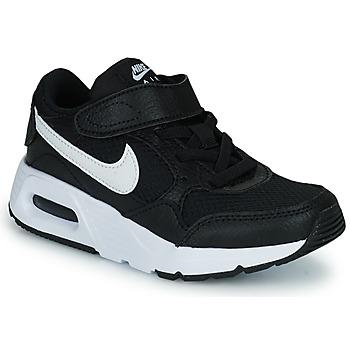 Schoenen Kinderen Lage sneakers Nike NIKE AIR MAX SC (PSV) Zwart / Wit