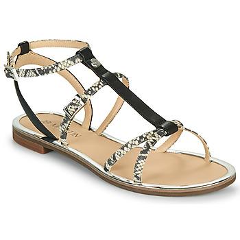 Schoenen Meisjes Sandalen / Open schoenen JB Martin 1GRIOTTES Wit / Zwart