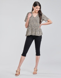 Textiel Dames Korte broeken Vero Moda VMHOT SEVEN Zwart