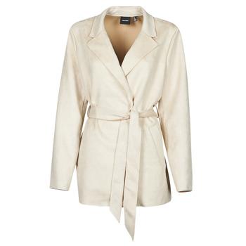 Textiel Dames Trenchcoats Vero Moda VMNAPOLI Beige
