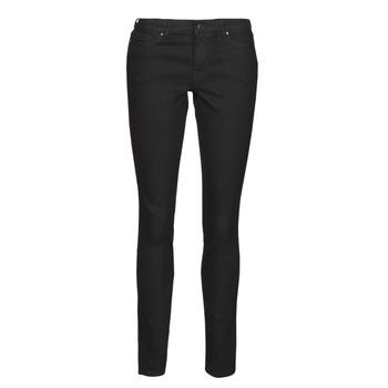 Textiel Dames Skinny jeans Vero Moda VMJUDY Zwart