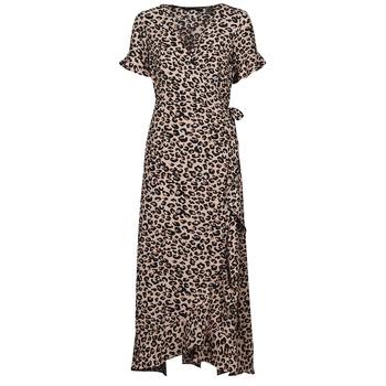 Textiel Dames Lange jurken Vero Moda VMSAGA Beige