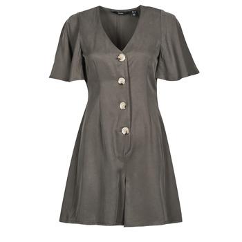 Textiel Dames Jumpsuites / Tuinbroeken Vero Moda VMVIVIANA Kaki