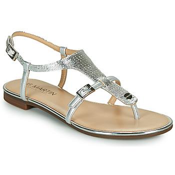 Schoenen Meisjes Sandalen / Open schoenen JB Martin 2GAELIA Zilver