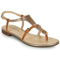 Schoenen Meisjes Sandalen / Open schoenen JB Martin 2GAELIA Brown