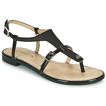 Schoenen Meisjes Sandalen / Open schoenen JB Martin 2GAELIA Zwart