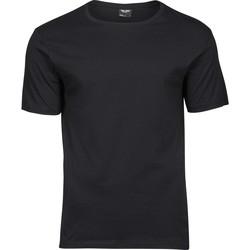 Textiel Heren T-shirts korte mouwen Tee Jays T5000 Zwart