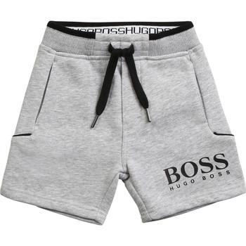 Textiel Jongens Korte broeken / Bermuda's BOSS NOLLA Grijs