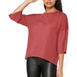 Textiel Dames T-shirts korte mouwen Jacqueline De Yong  Rood