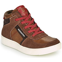 Schoenen Jongens Hoge sneakers Redskins LAVAL KID Brown / Rood