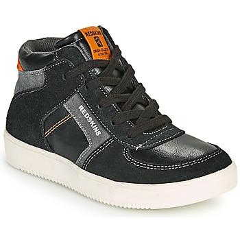 Schoenen Jongens Hoge sneakers Redskins LAVAL KID Zwart / Antraciet
