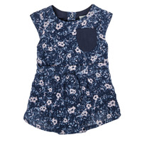 Textiel Meisjes Jumpsuites / Tuinbroeken Ikks XS33010-48 Marine