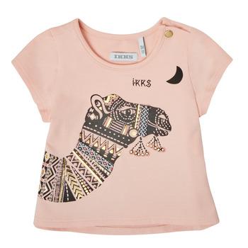 Textiel Meisjes T-shirts korte mouwen Ikks XS10100-32 Roze