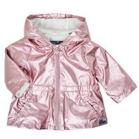 Textiel Meisjes Parka jassen Ikks XS42010-31 Roze