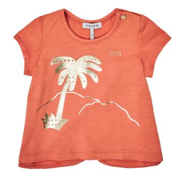 Textiel Meisjes T-shirts korte mouwen Ikks XS10080-67 Orange