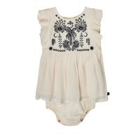 Textiel Meisjes Korte jurken Ikks XS30060-11 Wit