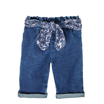 Textiel Meisjes Straight jeans Ikks XS29000-86 Blauw