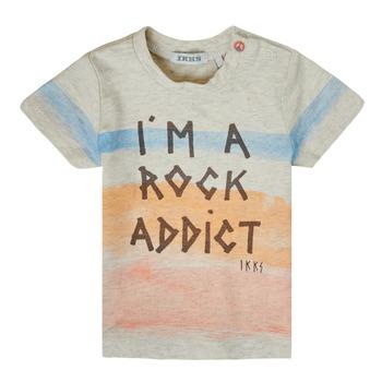 Textiel Jongens T-shirts korte mouwen Ikks XS10061-60 Multicolour