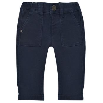 Textiel Jongens 5 zakken broeken Ikks XS29011-48 Marine
