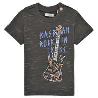 Textiel Jongens T-shirts korte mouwen Ikks XS10091-27 Grijs