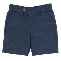 Textiel Jongens Korte broeken / Bermuda's Ikks XS25021-45 Marine