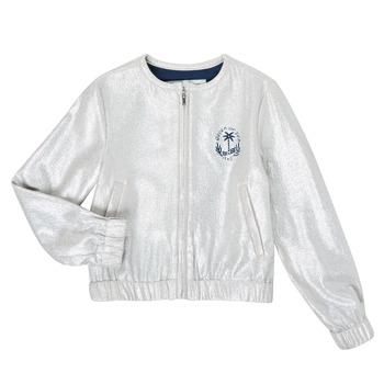 Textiel Meisjes Jasjes / Blazers Ikks XS17042-18-J Zilver