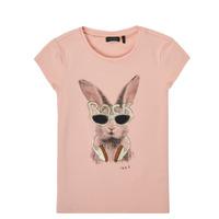 Textiel Meisjes T-shirts korte mouwen Ikks XS10342-32-J Roze