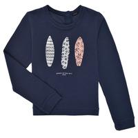 Textiel Meisjes Sweaters / Sweatshirts Ikks XS15012-48-J Marine