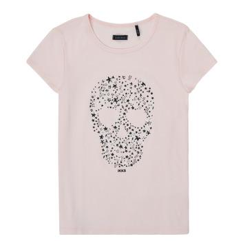 Textiel Meisjes T-shirts korte mouwen Ikks XS10492-31-C Roze