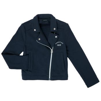 Textiel Meisjes Vesten / Cardigans Ikks XS17072-48-C Marine