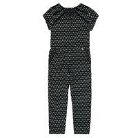 Textiel Meisjes Jumpsuites / Tuinbroeken Ikks XS32012-02-C Zwart