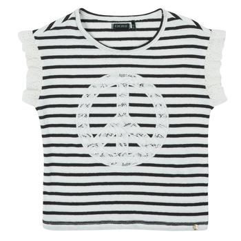 Textiel Meisjes T-shirts korte mouwen Ikks XS10022-19-C Multicolour
