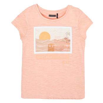 Textiel Meisjes T-shirts korte mouwen Ikks XS10332-32-C Roze