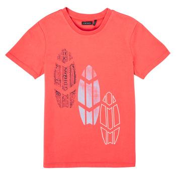 Textiel Jongens T-shirts korte mouwen Ikks XS10043-79-C Rood