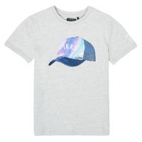 Textiel Jongens T-shirts korte mouwen Ikks XS10073-24-C Grijs