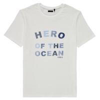 Textiel Jongens T-shirts korte mouwen Ikks XS10343-19-C Wit