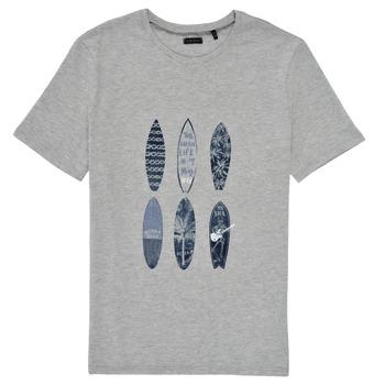 Textiel Jongens T-shirts korte mouwen Ikks XS10363-24-C Grijs