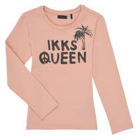 Textiel Meisjes T-shirts met lange mouwen Ikks XS10092-32-J Roze