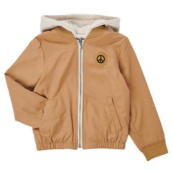 Textiel Jongens Wind jackets Ikks XS41063-64-J Beige