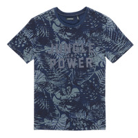 Textiel Jongens T-shirts korte mouwen Ikks XS10153-46-J Marine