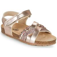 Schoenen Meisjes Sandalen / Open schoenen Mod'8 KOENIA Roze / Gold