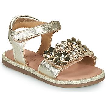 Schoenen Meisjes Sandalen / Open schoenen Mod'8 PARLOTTE Goud