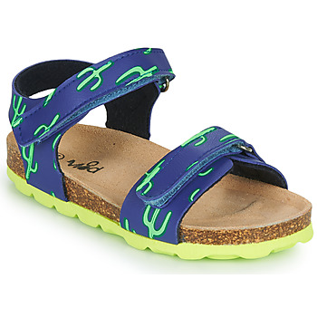 Schoenen Jongens Sandalen / Open schoenen Mod'8 KOURTIS Blauw / Groen